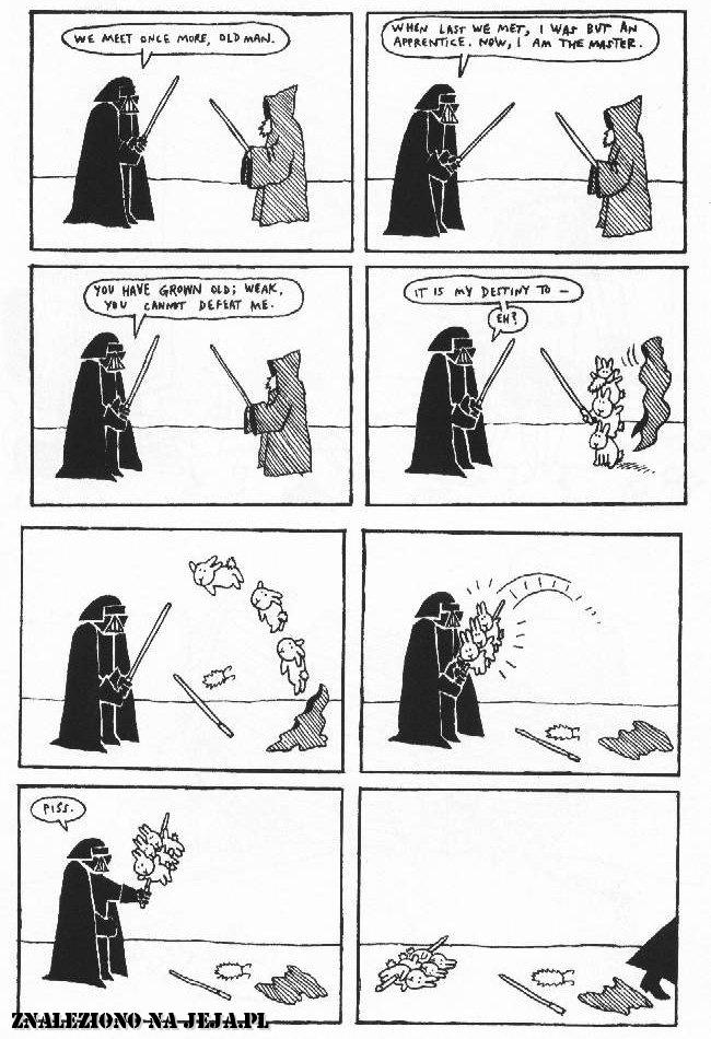 Samobójstwa zajączka: Zajączek i Star Wars
