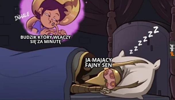 Za każdym obudzonym razem