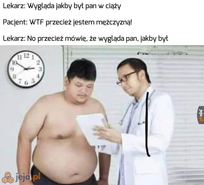 Jednym słowem kliniczna otyłość