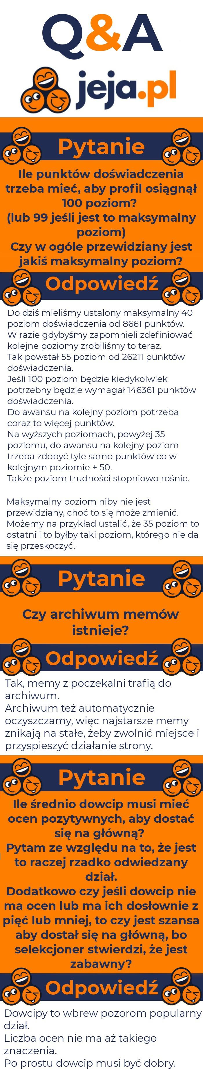 Pytania i odpowiedzi Jeja.pl