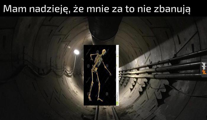 Pewnie dostanę bana / Nie do końca o taki tunel chodzi