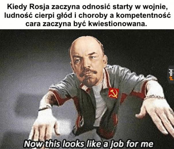 To robota dla Włodzimierza