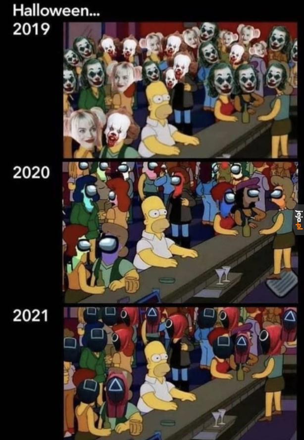 Za rok też coś będzie z maskami