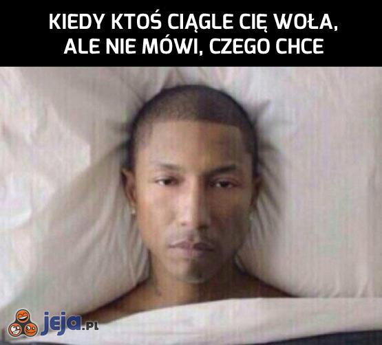 A chciałem spać...