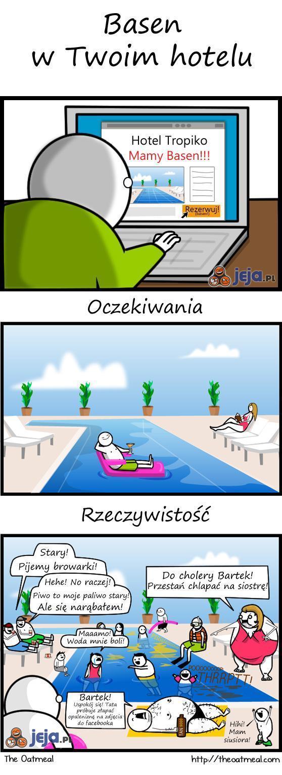 Hotelowe baseny