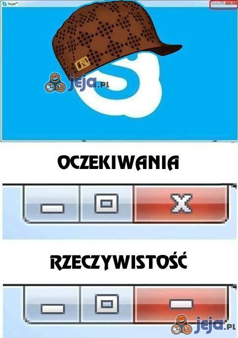 Och, ty cwany Skypie...