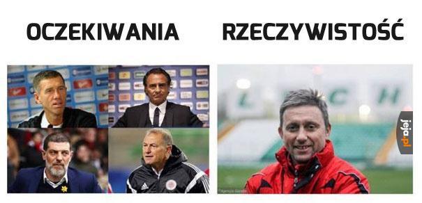 Nowy trener Polski