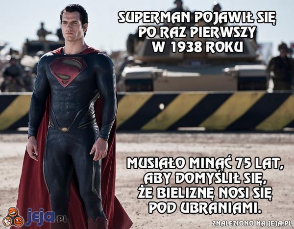 Superman potrzebował 75 lat