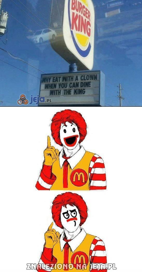 Ronald nie ma szans