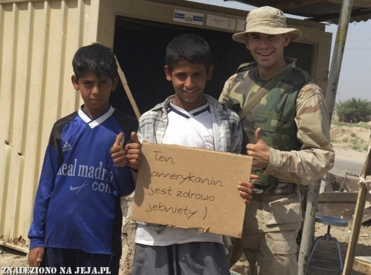 Amerykanin w Bagdadzie