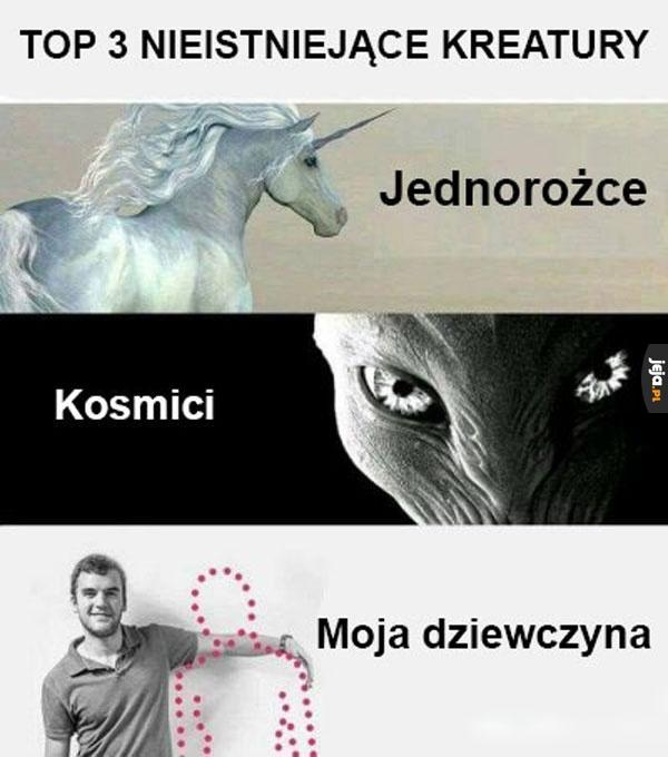 Mityczne stworzenia