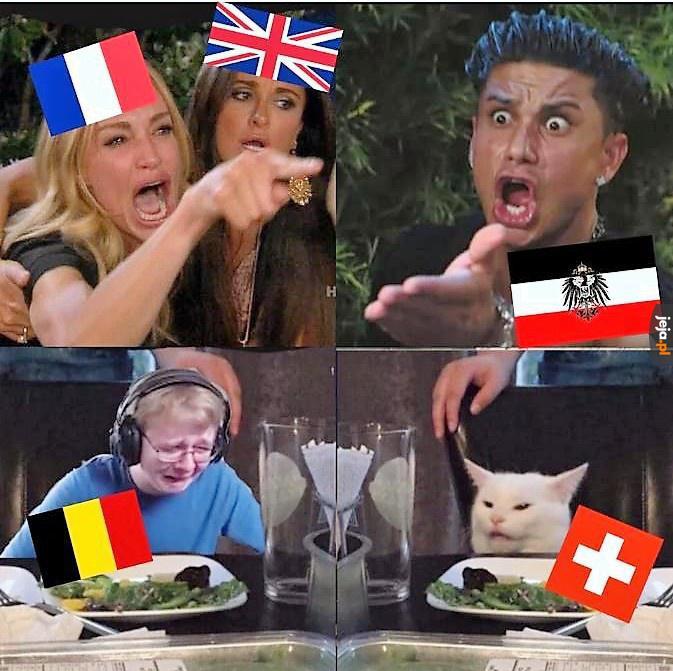 Wielka Wojna w czterech slajdach