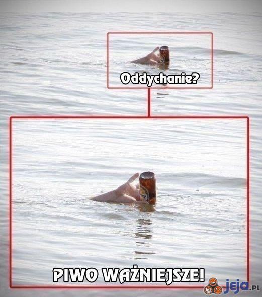 O czym należy pamiętać pod wodą?