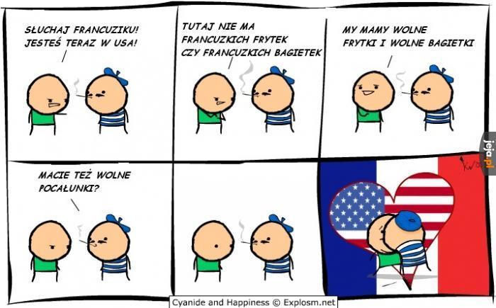Francuz w USA