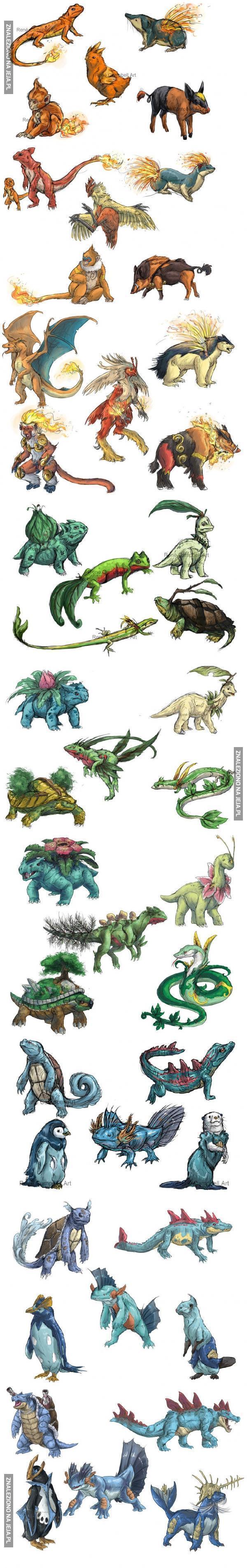 Pokemony według Rene Campbella