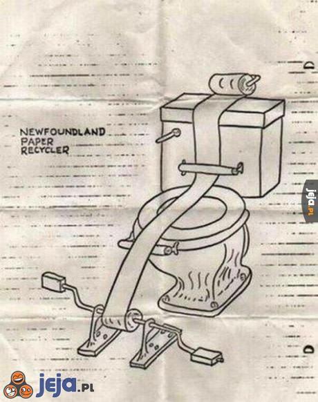 Nowy pomysł na recykling papieru