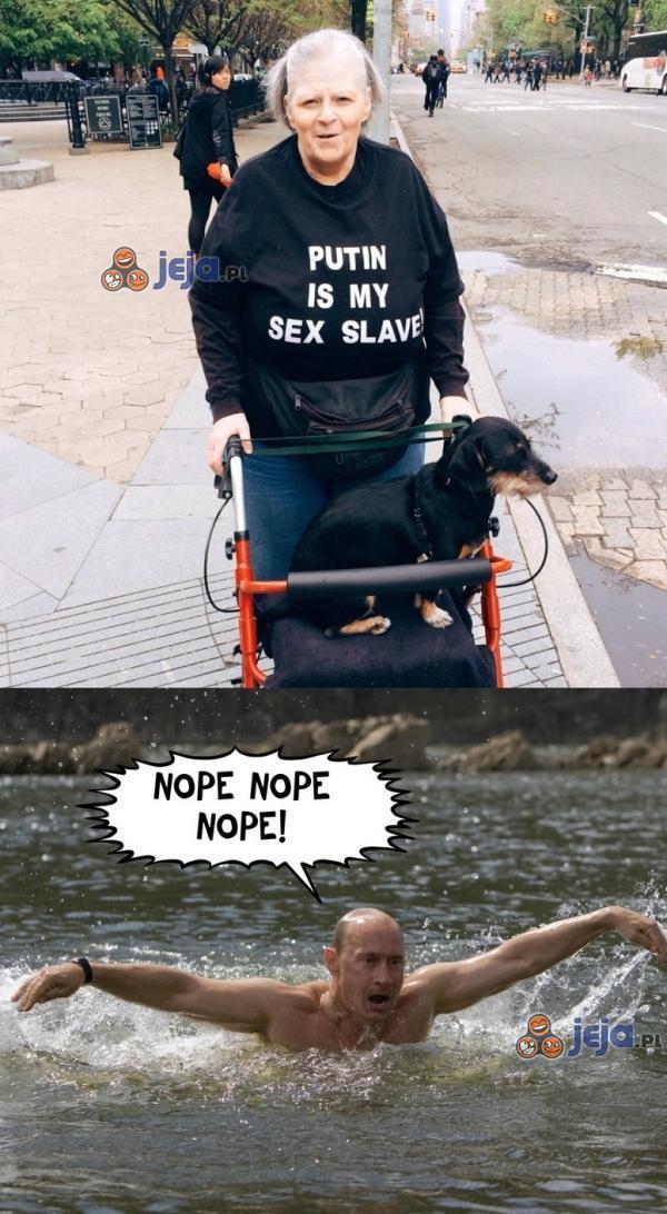Putin musi uciekać z kraju