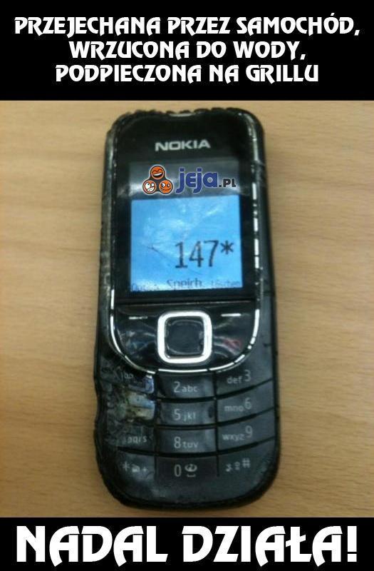 Niezniszczalna Nokia