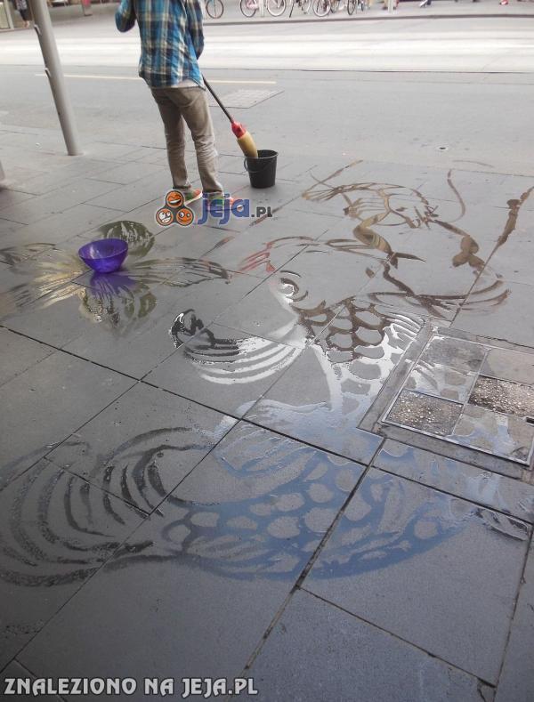 Artystyczne sprzątanie