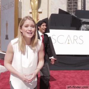 Tymczasem na Oscarach...