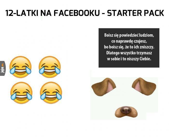 12-latki na Facebooku