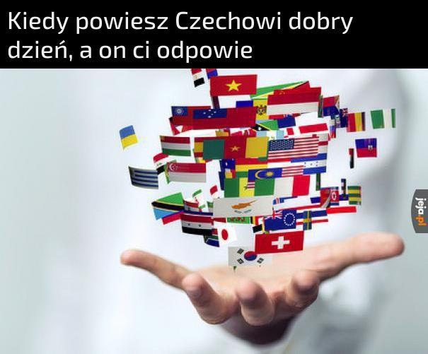 Ale ze mnie znawca języków!
