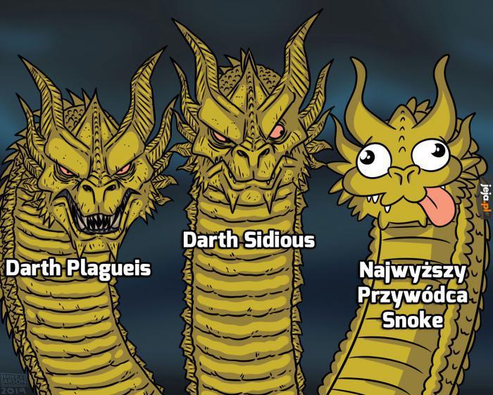 Szybki przegląd złoczyńców ze Star Wars