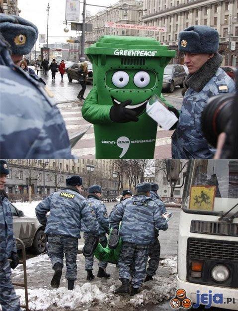 Greenpeace pojmany