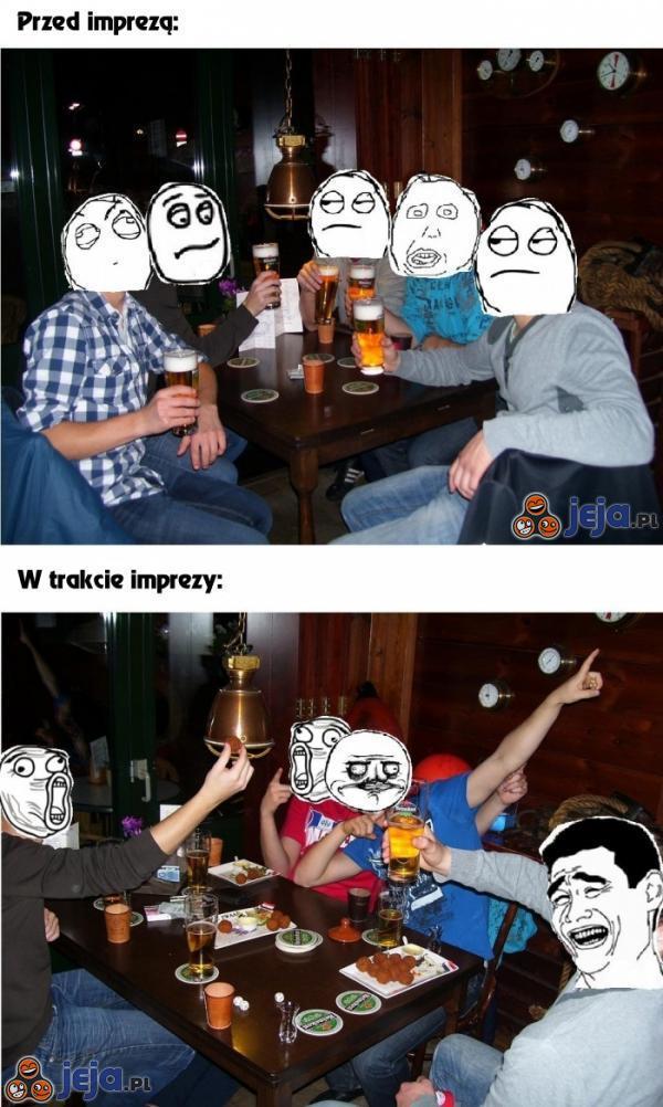 Przed imprezą i w trakcie