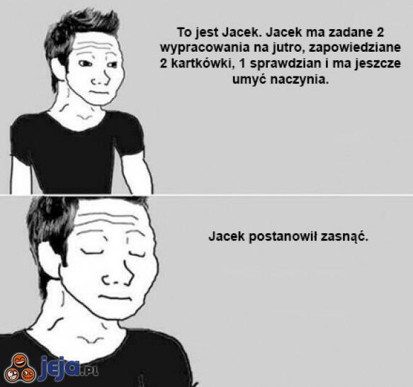 Śpiący Jacek