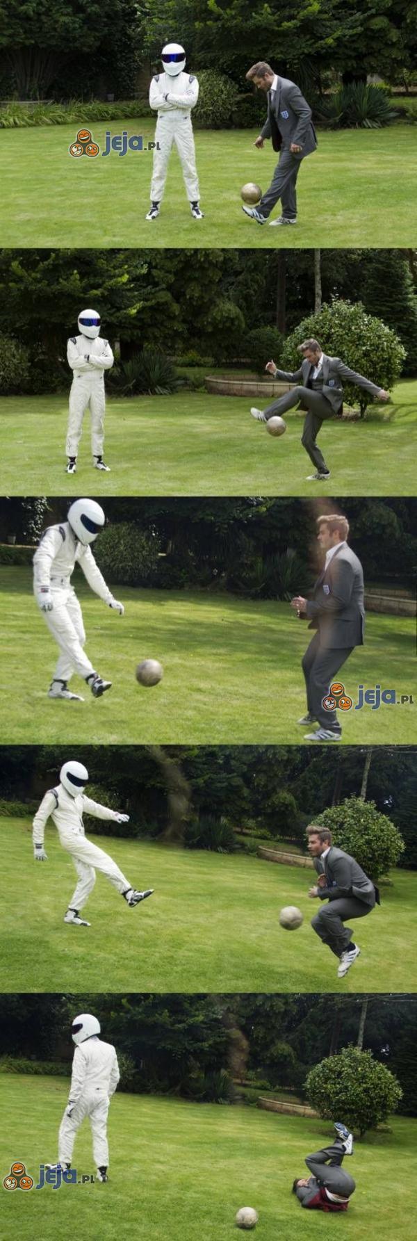 Beckham znokautowany!