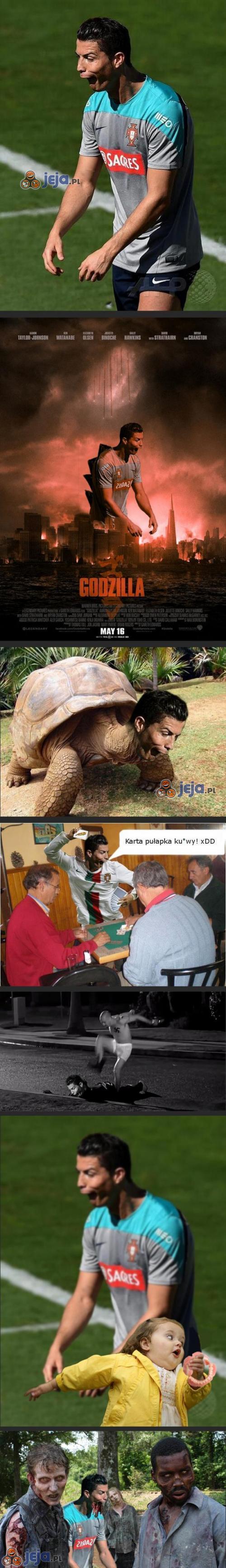 Ronaldo szaleje w Internetach