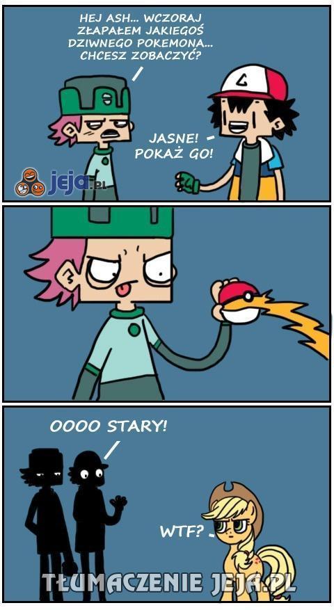 Strasznie rzadki okaz Pokemona...