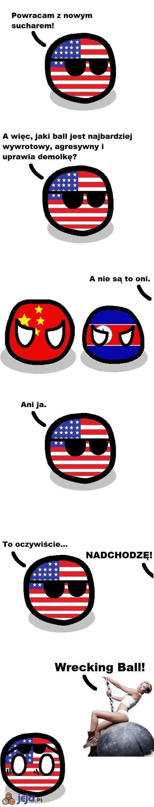 Agresywny ball