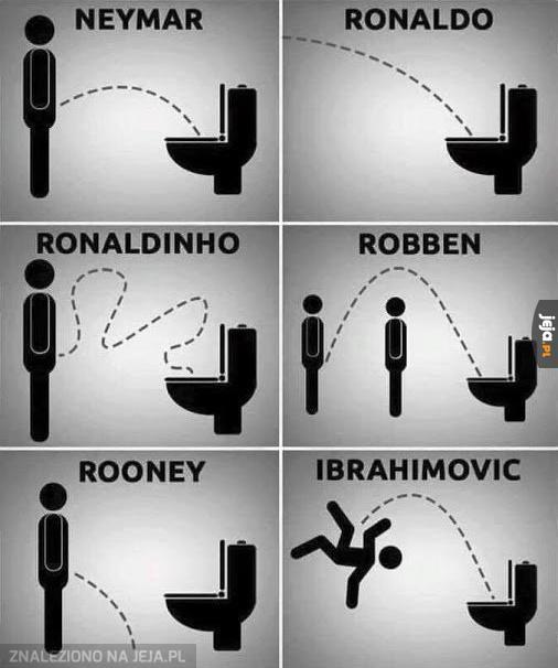 Jak trafiają piłkarze