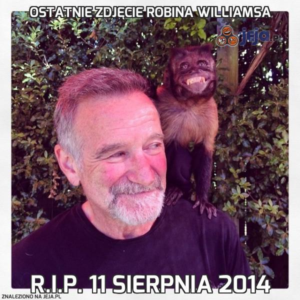 Ostatnie zdjęcie Robina Williamsa