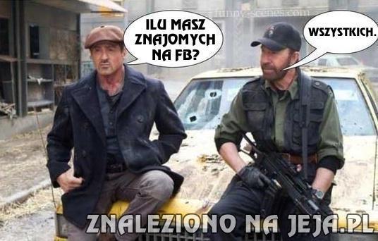 Chuck i Facebook
