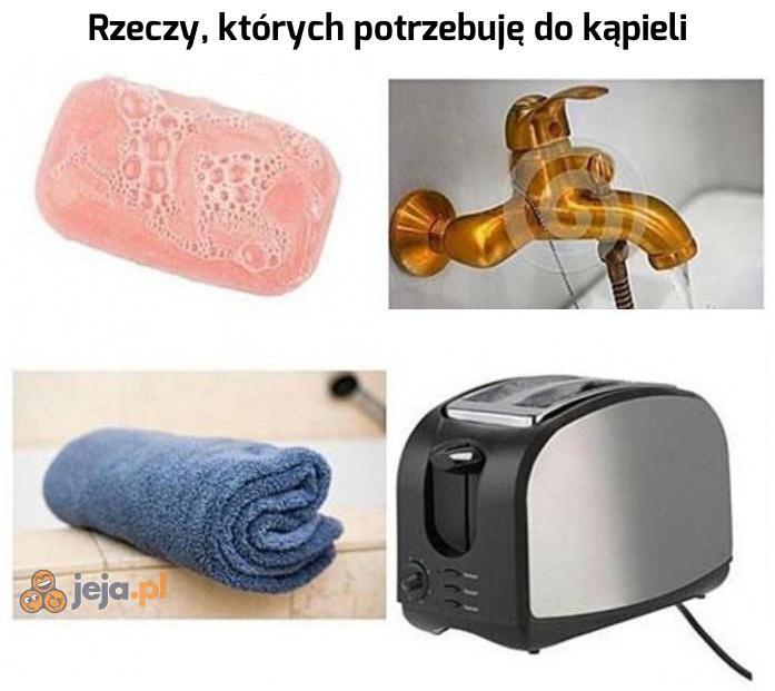 Najprzyjemniejsza kąpiel w życiu