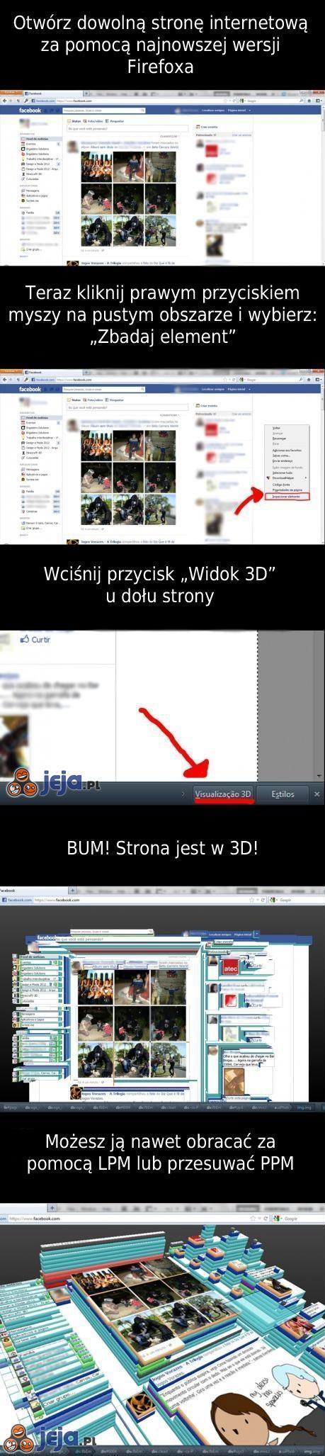Firefox w 3D!