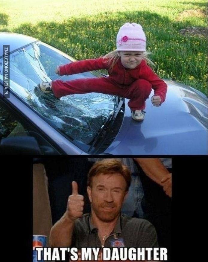 Chuck musi być dumny