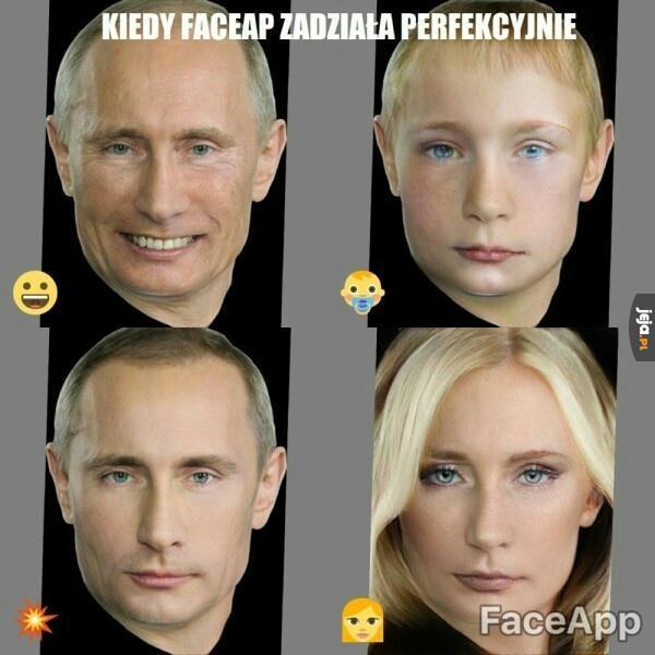Perfekcyjna twarz do zamianek