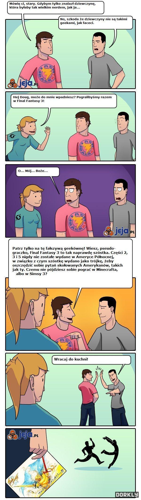 Fałszywa geekówna