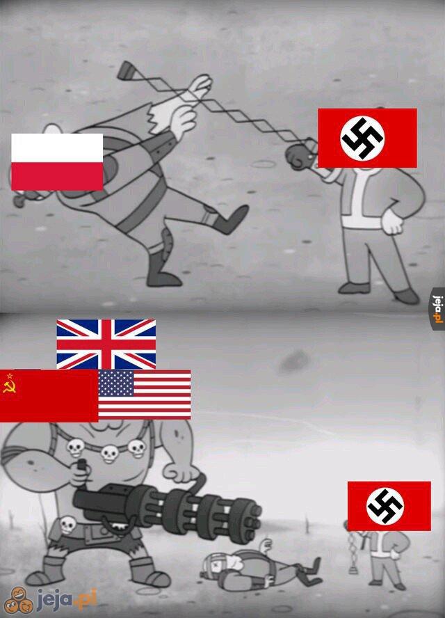 II Wojna Światowa w skrócie