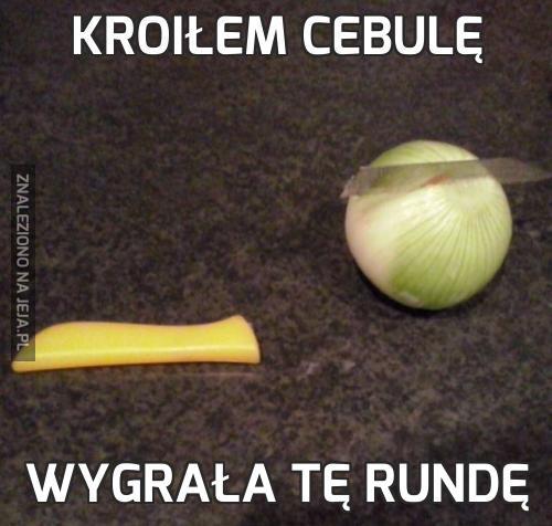 Kroiłem cebulę