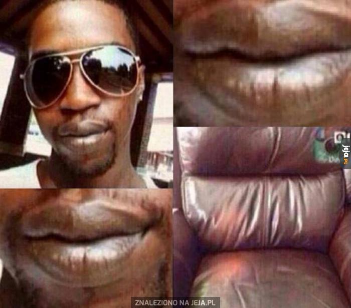 Usta niczym fotel