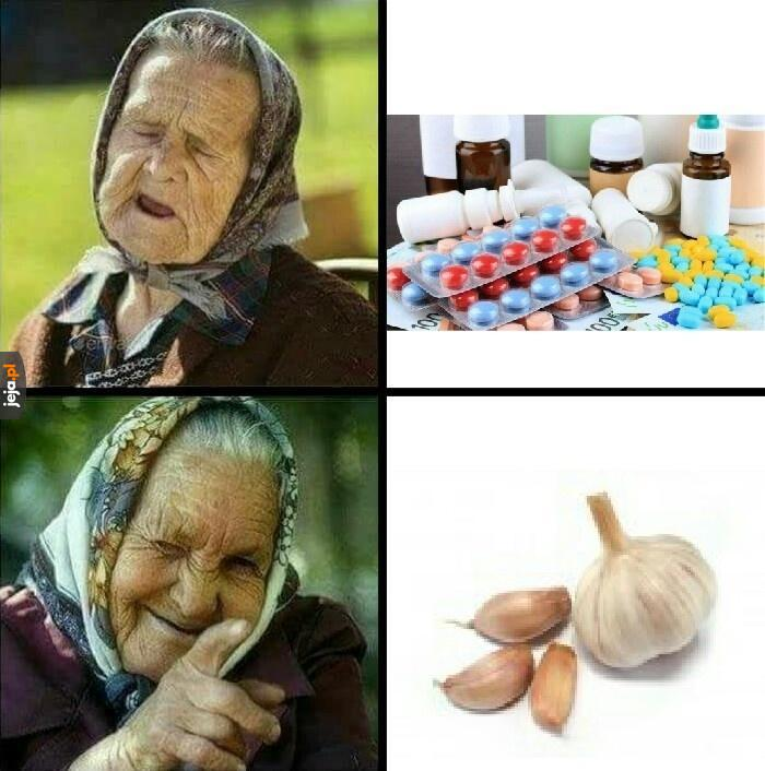 Naturalny antybiotyk