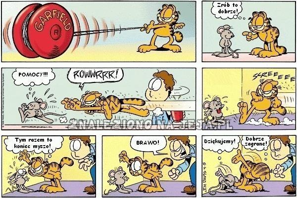 Garfield i mysz