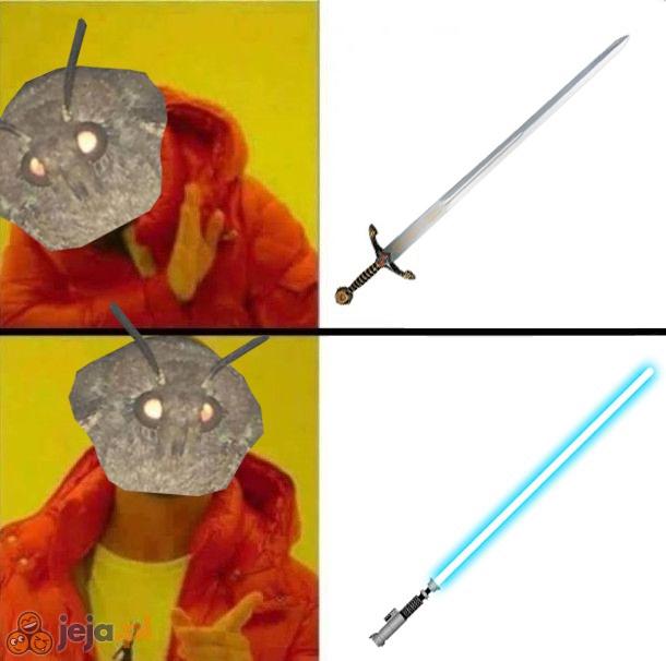 Tylko miecze świetlne!