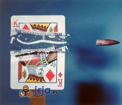 Przestrzelona karta