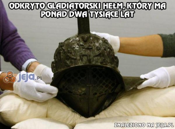 Ktoś chyba stracił głowę 2000 lat temu